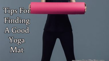 Tips For Finding A Good Yoga Mat